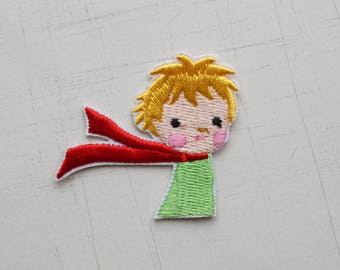 5 x 4.4 cm, Le Petit Prince Iron On Patch