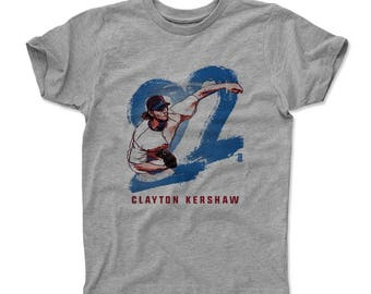 Clayton Kershaw Stroke B Officially Licensed Los Angeles D Kids T-shirt