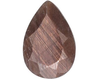 Chocolate Sapphire Loose Gemstone Pear Cut 1A Quality 10x7mm TGW 2.00 cts.