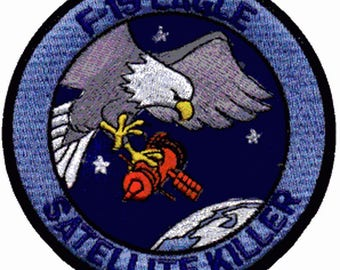 Patch F15 EAGLE Satellite Killer Army Aviation badge