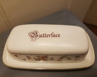 Butterface covered butter dish