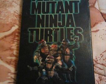Teenage Mutant Ninja Turtles The Movie VHS 1990 rare collectible movie plays well
