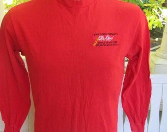 Size L (44) ** Rare 1985 Hall & Oates Concert Shirt (Single Sided) (Deadstock Unworn)