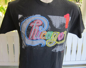 Size XL- (44) ** Authentic 1991 Chicago Tour Shirt (Double Sided)