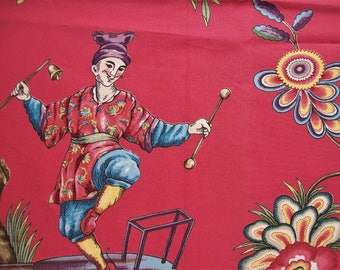 Scalamandre Chinoise Fabric sample 25x35