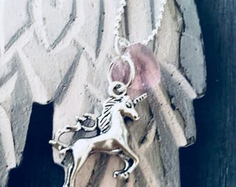 Magical Mystical Unicorn Necklace