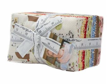 Cottontail Cottage by Bunny Hill Designs for Moda Fat Eighth Bundle 30 F8