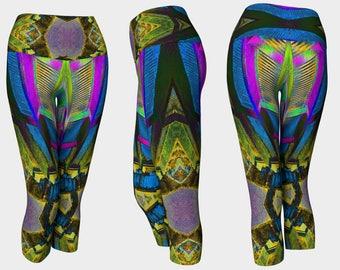 08266 Yoga Capri: Under the Bridge Photography. Yoga Leggings, Yoga Pants, Yoga Tights, Running Tights, Leggings