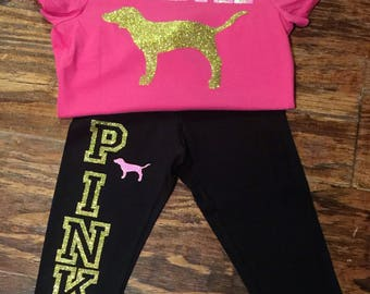 Baby victoria secret outfit, baby pink outfit,victoria secret outfit, baby vic secret, baby pink outfit