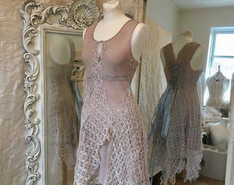 Fairy light purple dress, airy romantic feminine dress, prom,unique bridal gown,light purple,elven princess,gorgeous dress one of a kind bea