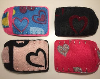Valentine's Day Printed Felt Orthopedic Eye Patch for Kids and Adults: For Amblyopia Lazy Eye Treatment