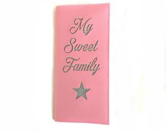 "Protège Livret de famille ""My Sweet Family"""
