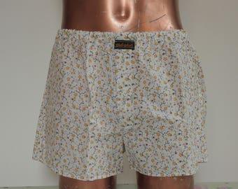 Shorts underpants for men,  batik cotton, one size