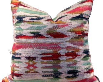 Multi Coloured Ikat, Upholstery Weight Fabric
