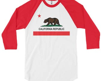 California Republic Baseball T-Shirt