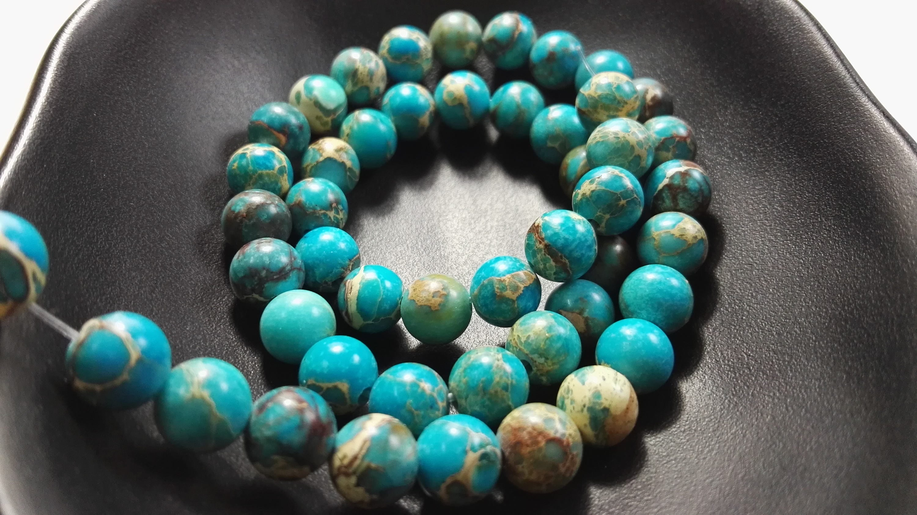 precious coffee wholesale gemstone jasper bean semi beads