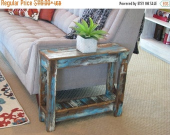 Distressed tableEtsy