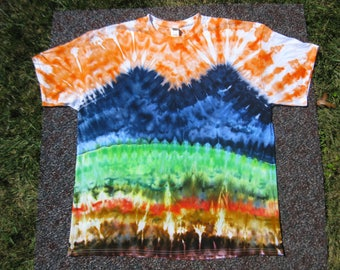 tie dye shirt, rainbow,Grateful Dead, nature shirt, inspiration