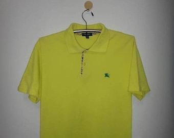 Chrismas Xmas Sale Burberry London Polo T Shirt Made In England Mens  Clothing