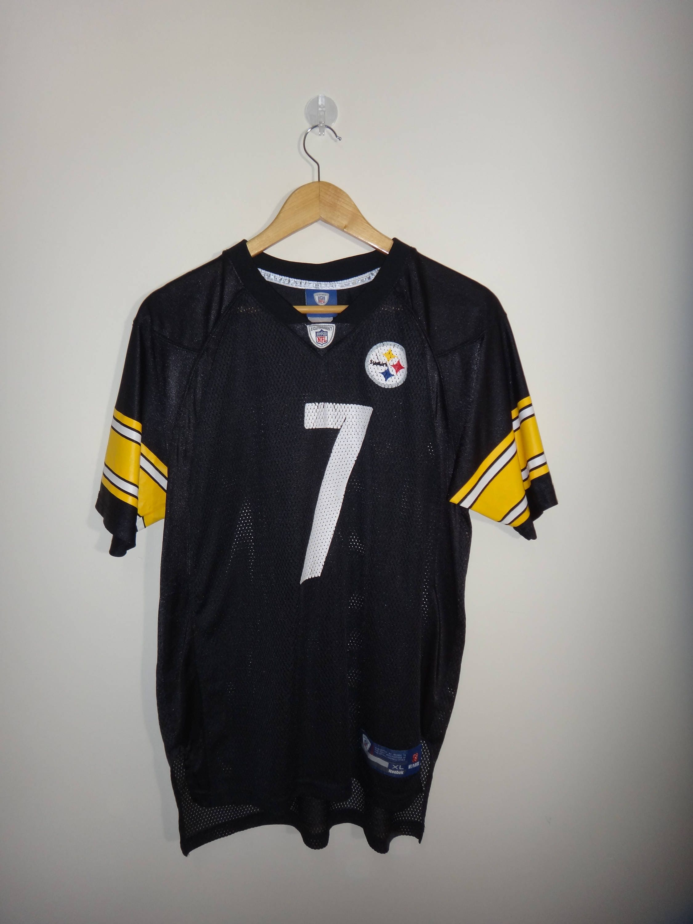 e13567261 ... White Authentic NFL Jersey Reebok Ben Roethlisberger Pittsburgh  Steelers NFL American ...