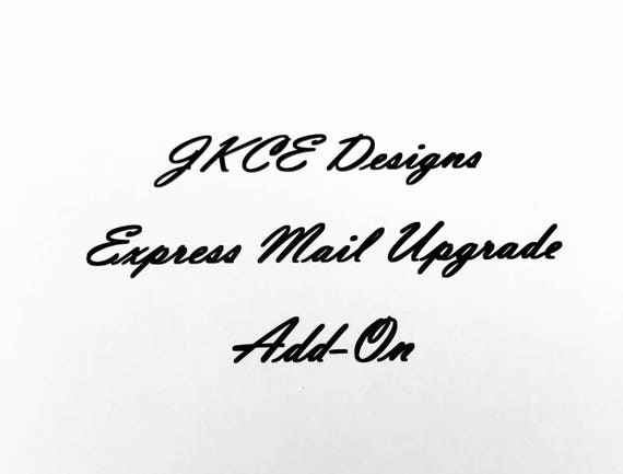 USPS Express Mail Shipping Add-On