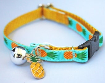 Pineapple Cat Collar