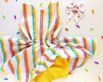 Baby Girl Clothes Baby Dress Girls Dresses Summer Dress Retro Dress Cactus First birthday dress Summer Outfit 50s Dress