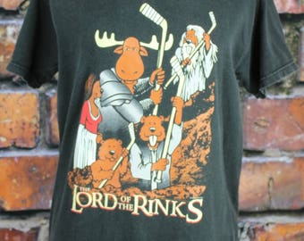 Lord of the Rinks Vintage Hockey T-Shirt