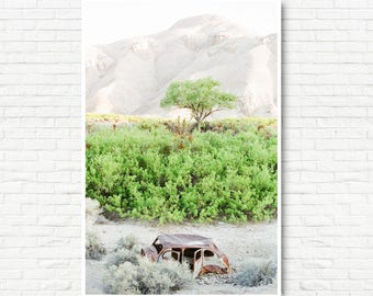 Rustic Desert Print -Big Wall Art, Oversized Art, Desert Wall Art, Boho Art, Minimalist Art, Modern Wall Art, Landscape Photography
