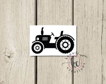 Tractor Vinyl Decal-Style 02