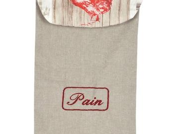 """Casseroles"" fabric bread bag"