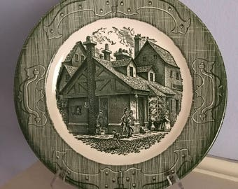 Currier and Ives - The Old Curiosity Shop Collectors Plate