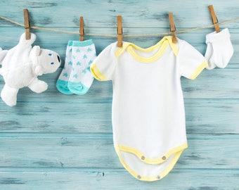 CUSTOM DESIGN Baby Onesie! - Birthday, New Born, Baby Shower, New Mom, Birth Gift, Hospital Gift, New Born Photos