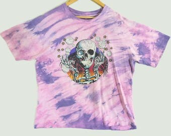 VTG 1991 Grateful Dead T-Shirt - XL - Jerry Garcia - Original Deadhead Tee - Hippie - Rock - Rare Vintage Tee - Vintage Clothing -