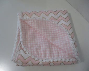 Crochet Baby Receiving Blanket