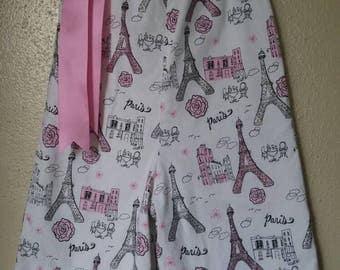 ON SALE-Paris Pillowcase Romper (Capri Length)