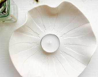 Feather bowl porcelain