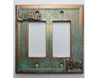 Lumos/Nox (Harry Potter) Double Decorator Light/Outlet Cover