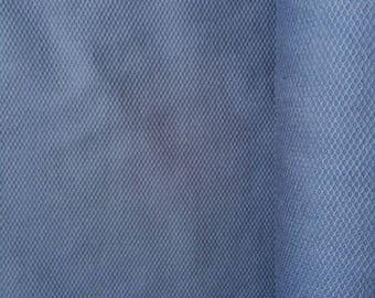 Intense blue cotton pique
