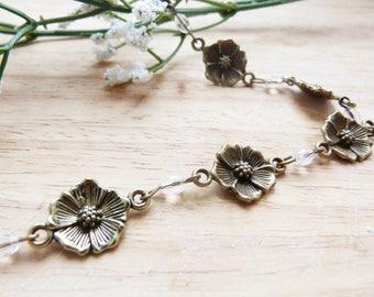 Headband / hair spirit Bohemian and romantic jewelry