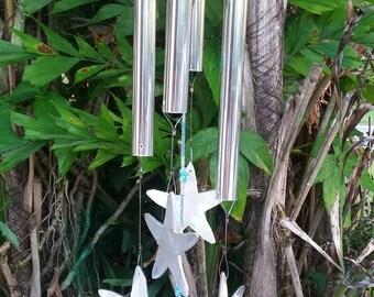 Beaded Starfish chimes