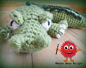 Alligator Travel Pillow