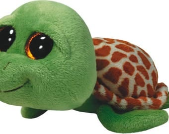 Ty Beanie Boos Zippy Green Turtle Plush 36109