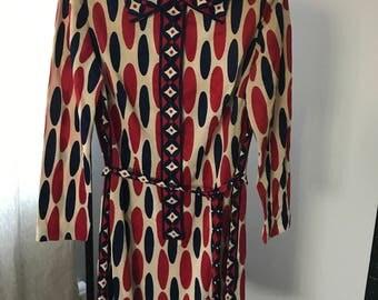 Vintage Mod dress by leslie Fay sz 14
