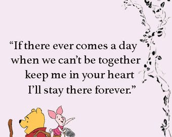 Winnie The Pooh Sign
