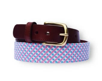 Hand Needlepoint Women's Belts