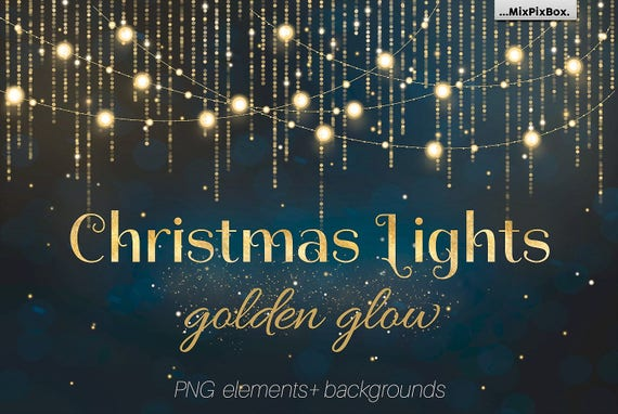 Christmas Lights Overlays Overlay String Light Png