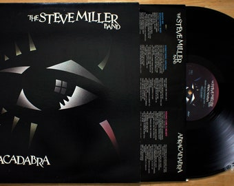 Steve Miller Band - Abracadabra (1982) Vinyl LP; Cool Magic