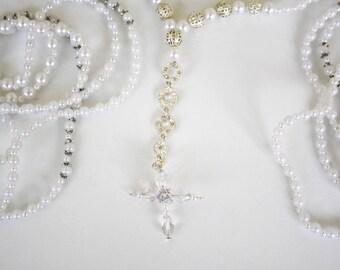 Pearl Wedding Lazo,el Lazo,Lazo de Bodas,Wedding Lasso,Lasso de Bodas,Catholic Lazo,Rosary Lazo,pearl  Lazo,lazo para boda en perlas