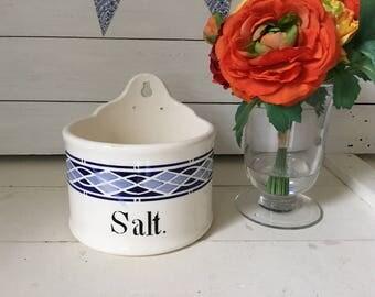 Vintage salt box
